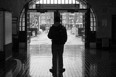 \|/ - Day 158/365 (nadineheidrich) Tags: street urban blackandwhite bw station germany subway deutschland pentax candid hamburg pad streetphotography bahnhof ubahn schwarzweiss k5 urbanphotography mundsburg candidphotography streetstyle project365 projekt365 strassenfotografie