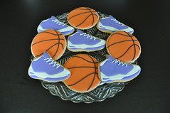 Basketball themed 40th b-day party