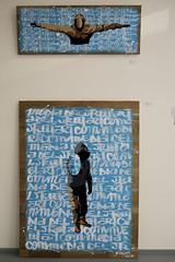 "Exposition GREGOS ""Comedia Del Street Art"" (et FKDL) Paris (unjenesaisquoideco) Tags: streetart art gallery exposition streetartist paris13 gregos fkdl jolknafoartgallery"