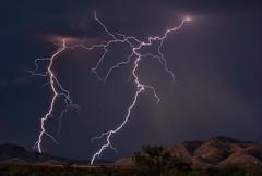 Nemesis (Steven Maguire Photography) Tags: arizona skyscape landscape monsoon thunderstorm lightning texascanyon cochisecounty