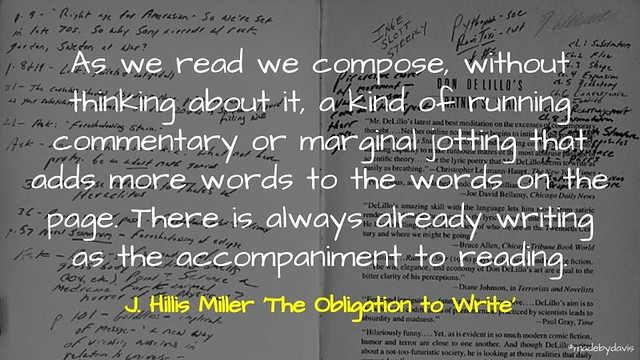 The Obligation to Write