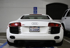 V8 R8 (Chase Thesing) Tags: white canon eos rebel row exotic parked santana expensive audi rare v8 sl1 r8