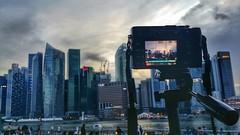 2Hour at Marna Bay Sands (vsjmupom) Tags: travel singapore fujifilm landspace xe1 marinabaysands flickrandroidapp:filter=none