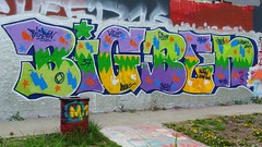 Ivry  by Big Ben   Graffiti-Streetart-Urbanart (descartes.marco) Tags: colores colorandcolors graffitistreetarturbanart frenchstreetartgraff colorbandcolors