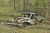 Joy Ride (Fancy E) Tags: overgrown penningtonnj abandonedcar