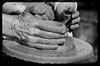 Manos de alfarero (arstxopo) Tags: feria medieval alfarero
