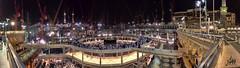 Mecca's Grand Mosque (Omar Dakhane) Tags: feast islam prayer religion ramadan islamic fasting عيد مسجد شهر رمضان رمضانكريم ramadankareem فطر مكة كعبة إسلام دين إسلامي أضحى holyramadan