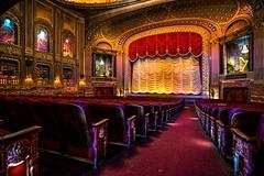 On the Aisle (Sky Noir) Tags: cinema movie virginia theatre interior richmond aisle renaissance rva byrd revival carytown theater