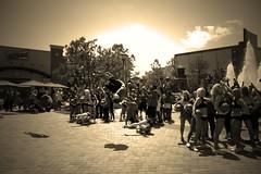 Thunder Flash Mob (brandon gene roby) Tags: cheerleaders flash mob nba thunder