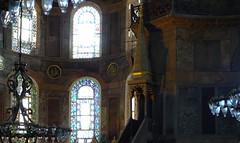 Apse windows, Hagia Sophia