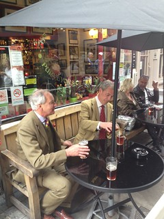 Neil Hamilton en Nigel Farage