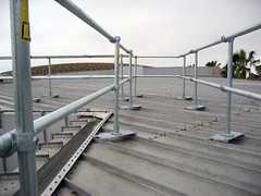 Metal Roof Railing