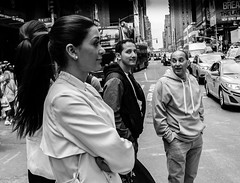 The Eyes Have It (C@mera M@n) Tags: street nyc newyorkcity people woman ny newyork beauty eyes candid places timessquare candidstreet