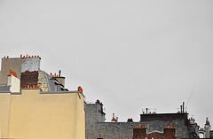 Bohème des toits - Orchestration pour cheminées (daniele99) Tags: paris roofs chimneys toits cheminées