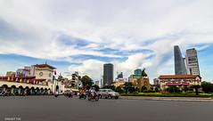 Saigon city center 2 (Black Baron93) Tags: city center tokina vietnam saigon wideanglelens