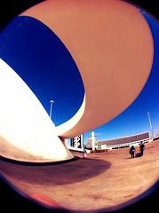 MUSEU (arq.thami) Tags: lens museu catedral fisheye sq brasilia athos pombal panteão bulcão iphone4 superquadras