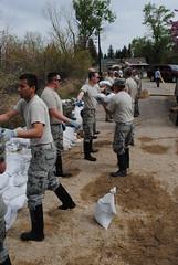 Saratoga flood relief May 2014 (wyoguard) Tags: flood saratoga relief wyng wyomingnationalguard