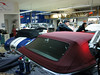 Mercedes SL R129 einteiliges Akustik-Luxus-Verdeck von CK-Cabrio Montage