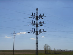 Central Power Electric - McHenry County, ND (NDLineGeek) Tags: 41600v cooperative