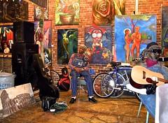L C ULMER (Shein Die) Tags: black art mississippi nikon gallery south blues theblues clarksdale deltablues jukejointfestival lculmer jukejointfestival2014 sunhousestudio