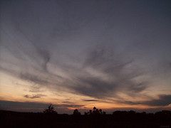The Sky at Dusk (jeanette.horvath //Jeanne//) Tags: sky cloud nature colors clouds evening twilight colorful skies colours cloudy dusk bluesky colourful