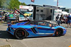 Lamborghini Aventador LP700-4 by Oakley Design (CA Photography2012) Tags: auto ca car by museum photography design italian italia day automotive exotic lamborghini supercar spotting oakley v12 brooklands lambo 2014 hypercar aventador lp7004