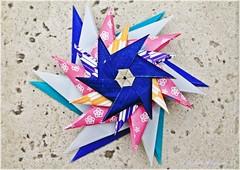 Very Happy Birthday Natasha!!! (Andrey Hechuev | Андрей Хечуев) Tags: blue stella azul star origami estrela bleu blau stern estrella papiroflexia etoile multicolor azur zvezda origamistar dobradura おりがみ multicolore синий 折り紙 звезда оригами papierfalten pliagedepapier papefolding dobraduradepapel hpbd зірка modularstar синій сдр многоцветный andriyx бумагосложение andreyhechuev бумагосложения stellaorigami hechuev hpbdstar origamimodularstar modularorigamistar hechuevandrey