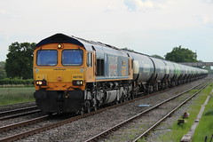66705 (6E12) 'Golden Jubilee' (Worcestershed) Tags: class66 firstgroup gbrf 66705