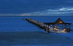Ahus: Frozen Baltic Sunrise (Alastair Wood) Tags: sea sunrise sweden baltic ahus