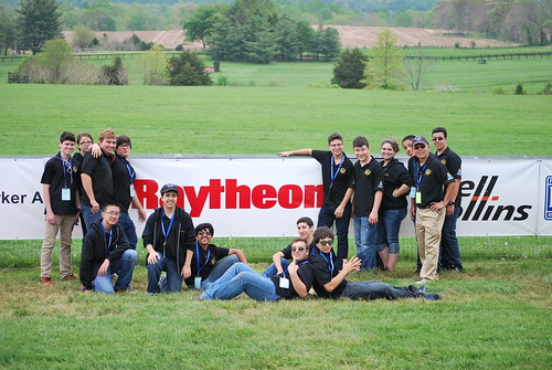 Team with Raytheon logo