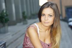 DSC04534 (LibanoGraphie) Tags: woman rome roma colors girl beautiful 50mm protrait ritratto citt comune