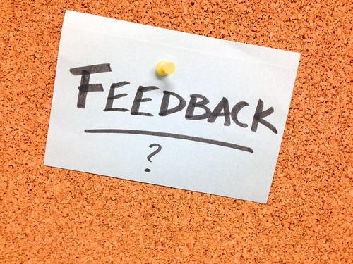 Got Feedback? by cogdogblog, on Flickr