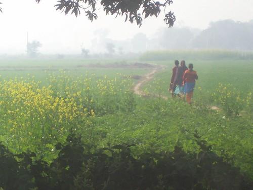 Village & girls