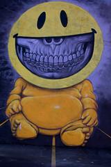 Ron English by night (1eyephotography) Tags: street urban usa streetart color art wall virginia paintings murals wallart richmond urbanart spraypaint walls eastcoast rva midatlantic artwhino rvamag richmondmuralproject