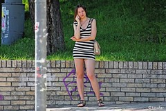 Girl With A Phone Updated (t-maker) Tags: street city shadow portrait urban woman public girl beautiful beauty grass mobile lady female bag town spring peace phone place legs pavement stones candid leg lawn young streetphotography documentary cellular peaceful social skirt ukraine human paving environment blocks emotional knees activity knee situation ukrainian kiev miniskirt kyiv sandal hdr spontaneous prosaic streetphotograph blockpavement