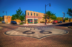 Standing on a corner in Winslow, Arizona (JoLoLog) Tags: arizona usa route66 az roadtrip raya theeagles winslow lorien takeiteasy oldroute66 standingonacorner canon6d