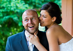 Exactly who has bitten off more than they can chew??!! Beautiful bride Anna (Anna Csikos) playfully having a cheeky nibble from her now husband's ear (Tamas Korom) whilst shooting at the Green Island Botanical Gardens in Szeged, Hungary shortly after thei (richardtoy58) Tags: county city flowers trees wedding summer lake green classic fountain beautiful sunshine gardens landscape fun bride community education support university hungary european dress traditional union ceremony silk culture traditions eu lifestyle marriage cheeky celebration event exotic research pools ear stunning classical species features brook streams fountains elegant bridal nibble setting ponds playful szeged hungarian laced landscaped featured matrimonial funding csongrad lacedback csongradcounty iso31662hu islandbotanical