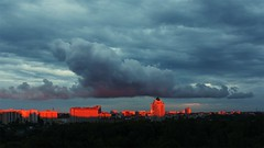 (bruta1ity) Tags: sunset summer panorama clouds закат пейзаж лето могилев mogilev