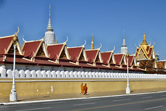 65 Phnom Penh (farfalleetrincee) Tags: travel tourism asia cambodia southeastasia buddhism adventure monks phnompenh guide royalpalace streetview