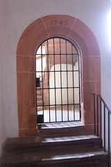 1543 castle doorway (quinet) Tags: door castle germany porte schloss chteau tr 2012 heidelbergerschloss heidelbergcastle 1543 castleroad burgenstrase