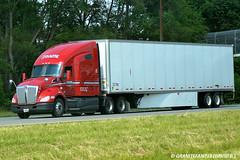 Roehl Kenworth T680 (Trucks, Buses, & Trains by granitefan713) Tags: kenworth tractortrailer roehl trucktractor kenworthtruck roehltransport kenwortht680
