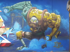 man at arms (Pixeljuice23) Tags: graffiti character ready luxembourg motu armed dow friendlyfire manatarms dudelange pixeljuice dudelangeonwheels