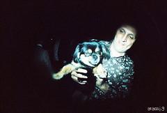 Crisis y Raul (araceli.g) Tags: wedding dog lomo maria boda colorsplashflash fisheye salamanca javi analogic araceli analogico gilabert toycamara coprolitos fisheyen2 amorporunpimiento