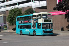 Arriva The Shires 5136 N36JPP (Andy4014) Tags: volvo olympian arrivatheshires n36jpp