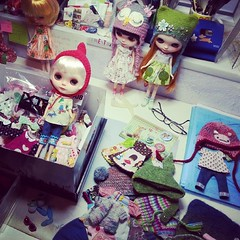 Packing the dolls, clothes & stuff ;)