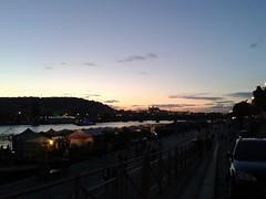 Prague at sunset (jann.haemers) Tags: sunset sky castle water boats evening colorful europe czechrepublic