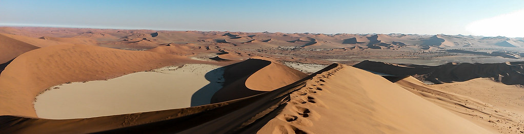 View From Big Daddy, Sossuvlei, Namibia