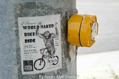 Bike Ride  7 14-178 (ramjetgr) Tags: summer bike sign naked post sony