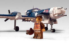 F-49A Patriot (JonHall18) Tags: plane fighter lego aircraft fantasy ww2 moc dieslepunk