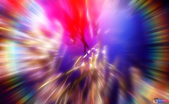 Motion Abstract (DJ DeeVise) Tags: abstract motion blur colour water contrast lens high rainbow bright zoom vivid hues flare multi
